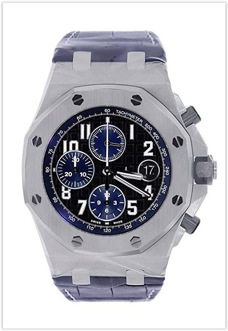 Audemars Piguet Royal Oak Offshore Chronograph 42mm Midnight Blue Men's Watch Price