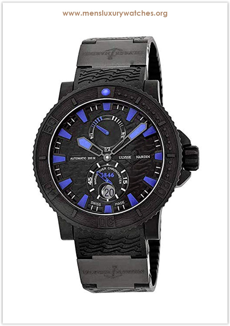 Ulysse Nardin Marine Diver Black Sea  Blue Sea Automatic Men's Watch the best price
