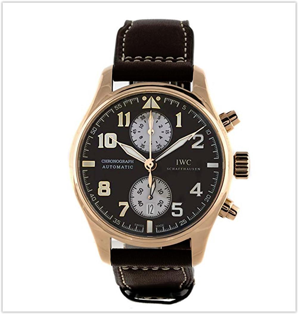 IWC Pilot Mechanical Brown Dial Men's Watch best price