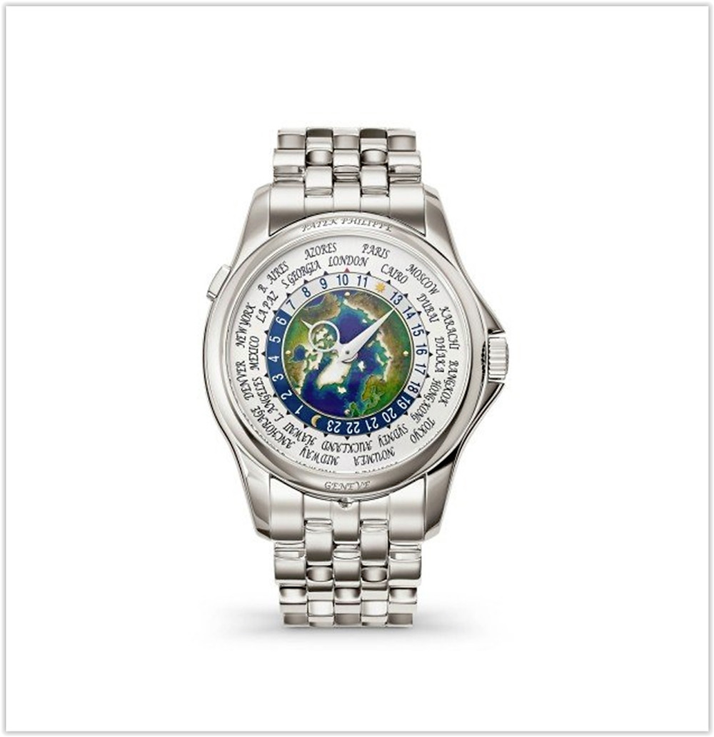 Patek Philippe Complications World Time Platinum Watch