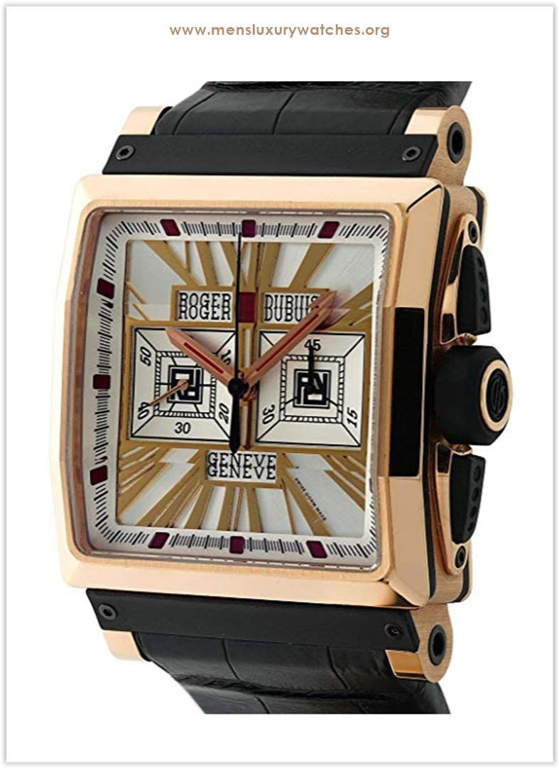 Roger Dubuis King Square with silver dial price