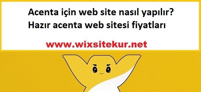 Acenta için web site nasıl yapılır? Hazır acenta web sitesi fiyatları