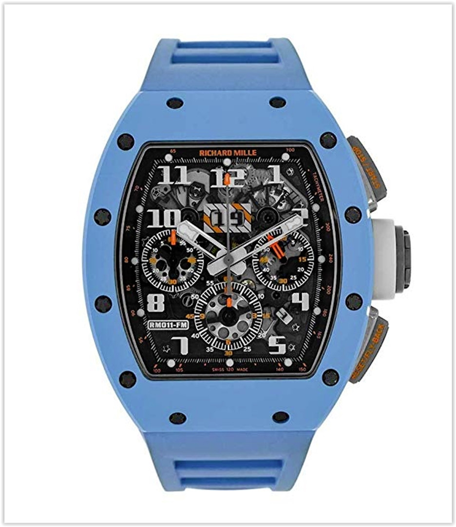 Richard Mille RM 011 Automatic-self-Wind Male Watch RM011