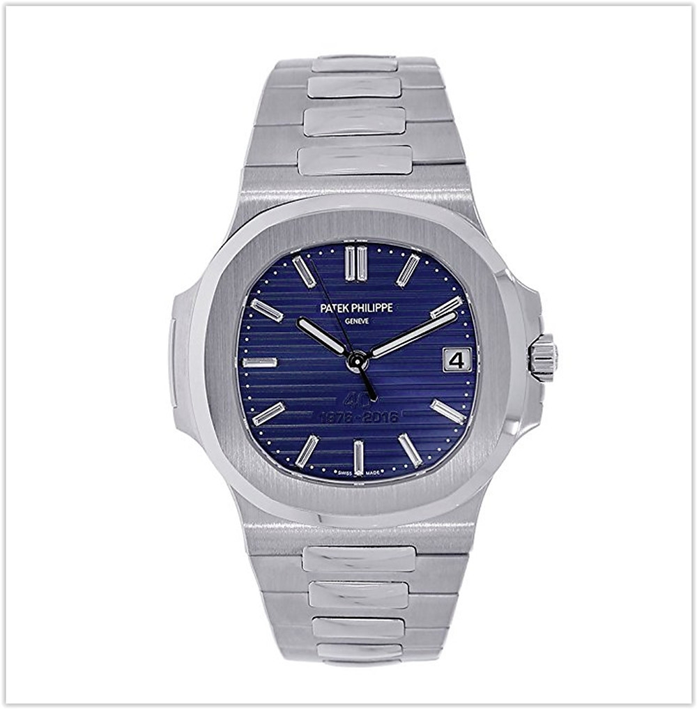 Black friday deals Patek Philippe Nautilus 40mm Platinum 40th Anniversary Watch