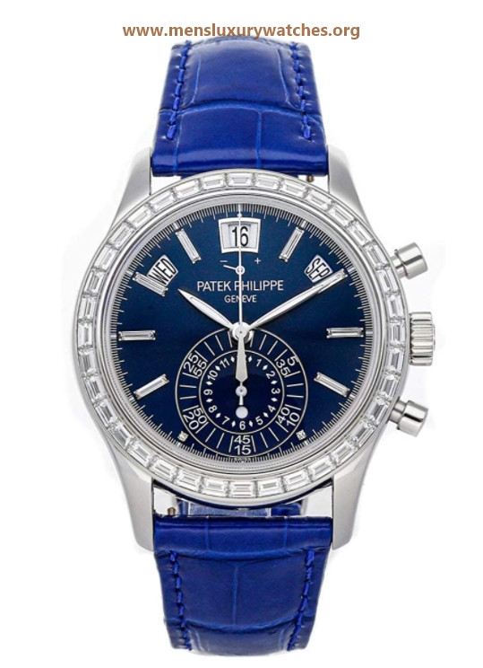 Patek Philippe Complications Mechanical(Automatic) Blue Dial Watch 5961P-001 (Pre-Owned)