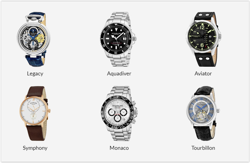 The Stuhrling Online Store