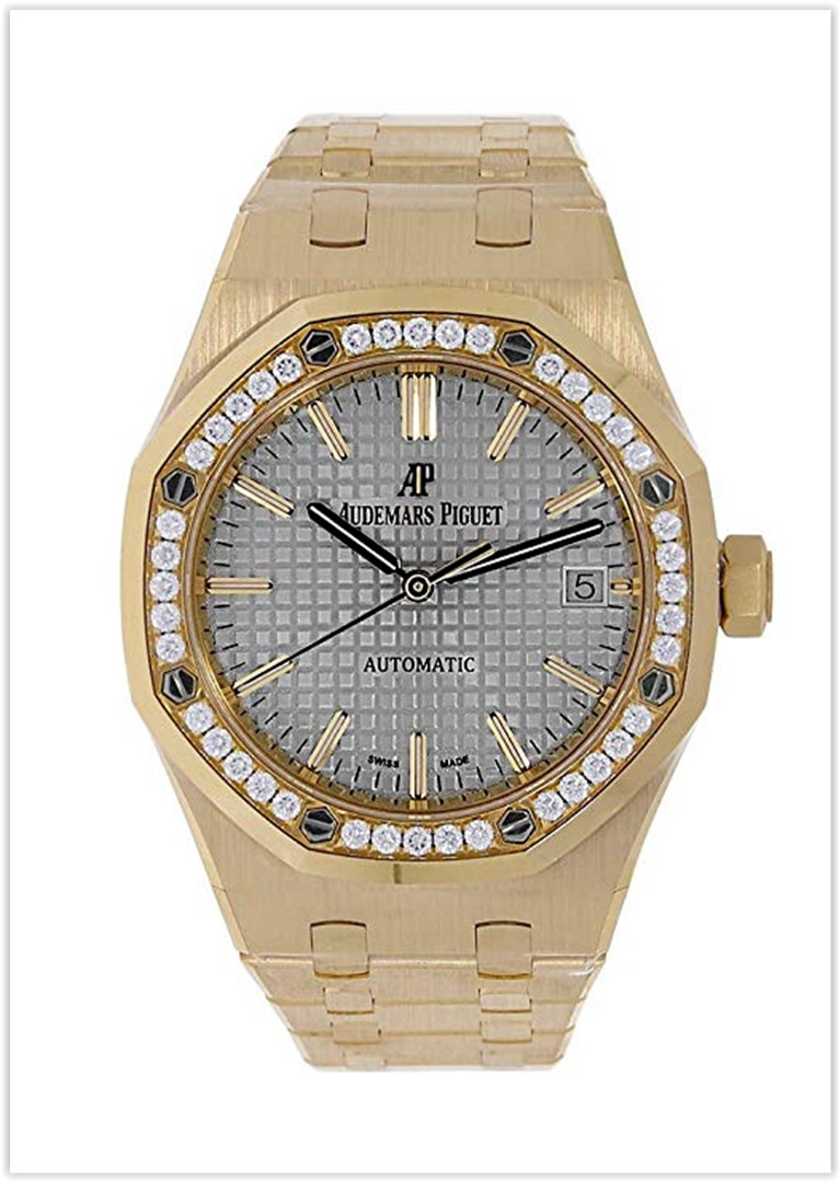 Audemars Piguet Royal Oak 37mm Diamond Bezel Watch price