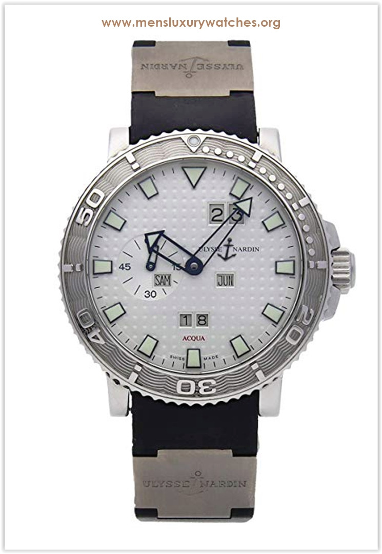 Ulysse Nardin Marine Mechanical (Automatic) Silver Dial Men's Watch the best price