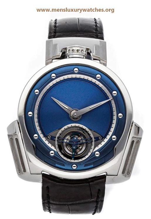 De Bethune Dream Watch Manual Wind Blue Dial Watch DW3PS3 (Pre-Owned)