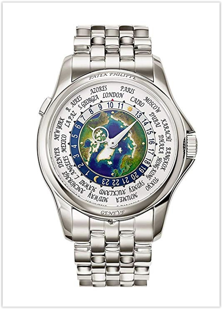 Patek Philippe World Time Men's Watch Pr