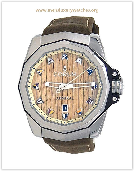Corum Admiral's Cup Automatic-self-Wind Male Watch Price May 2019