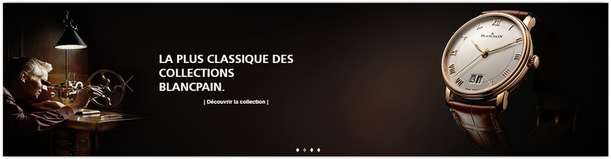 The Blancpain Online Store