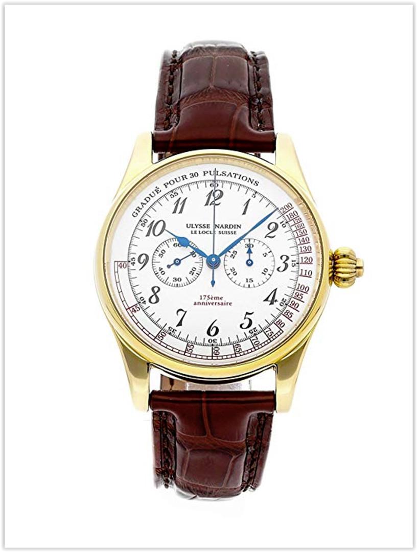 Ulysse Nardin Classico Mechanical White Dial Men's Watch Price