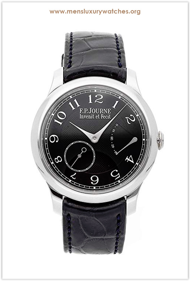 F.P. Journe Souverain Mechanical (Hand-Winding) Black Dial Men's Watch Chronometre Souverain Price