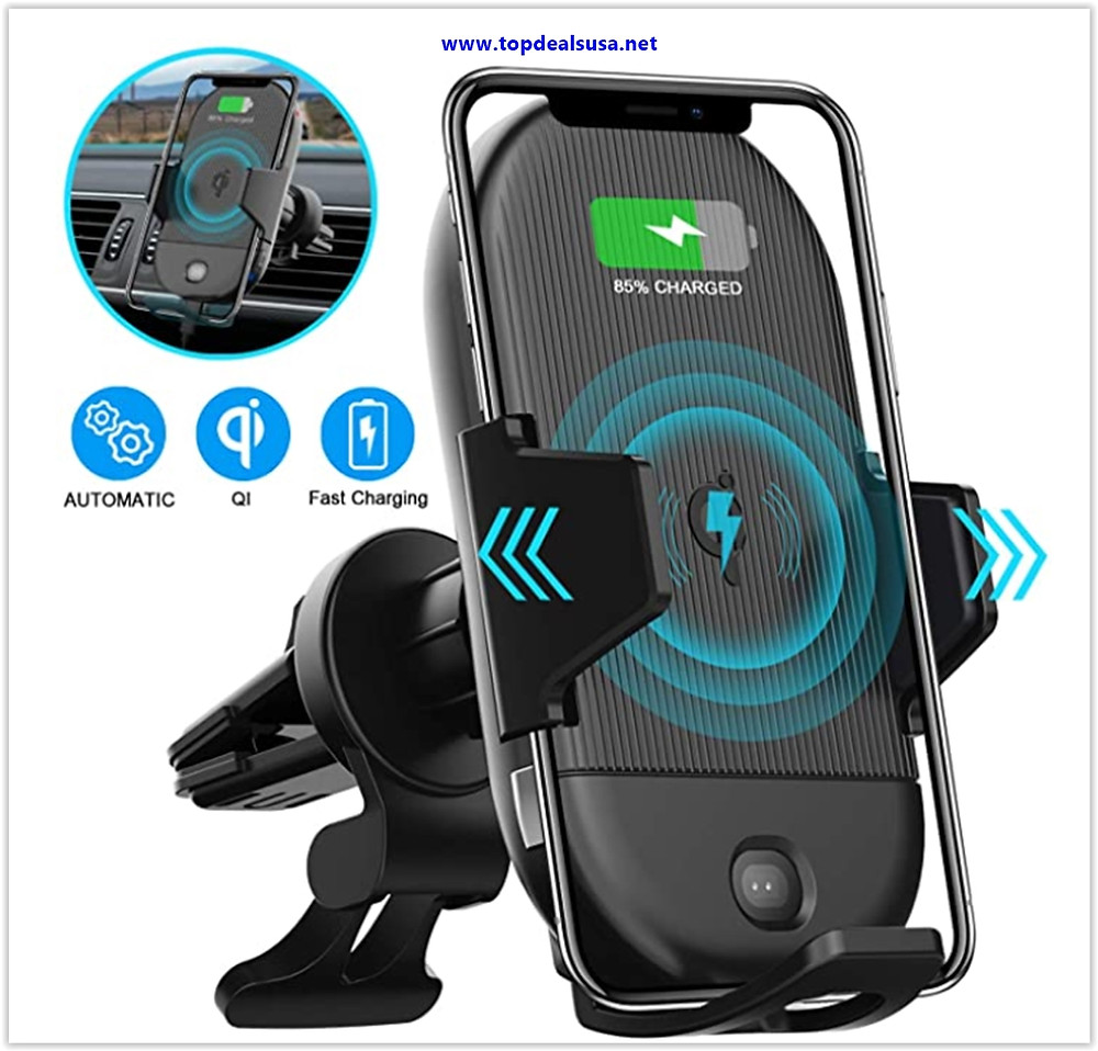 Best Buy LETSCOM Wireless Car Charger