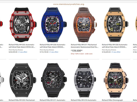 Top 10 Richard Mille Watches for your collection
