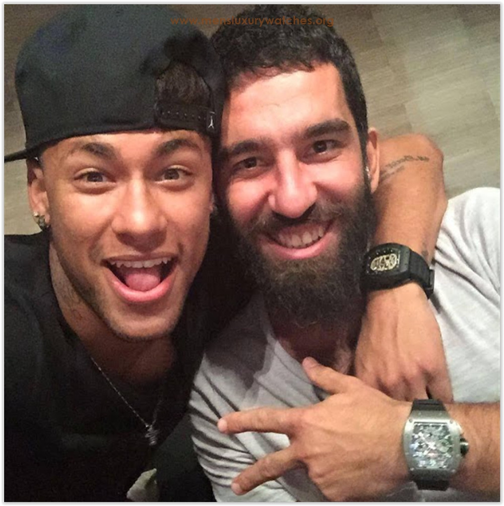 Pablo Neymar & Arda Turan Richard Mille Watches