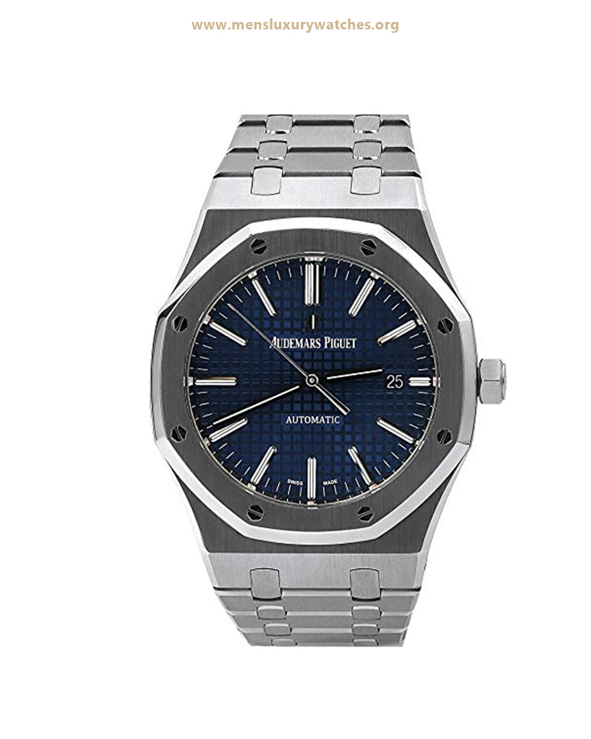 Audemars Piguet Ultra Thin Royal Oak Blue Men's Watch Price