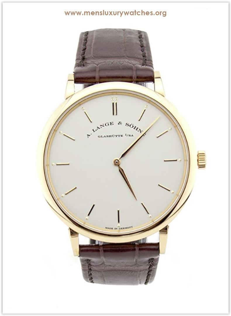 A. Lange & Sohne Saxonia mechanical-hand-wind Men's Watch Price