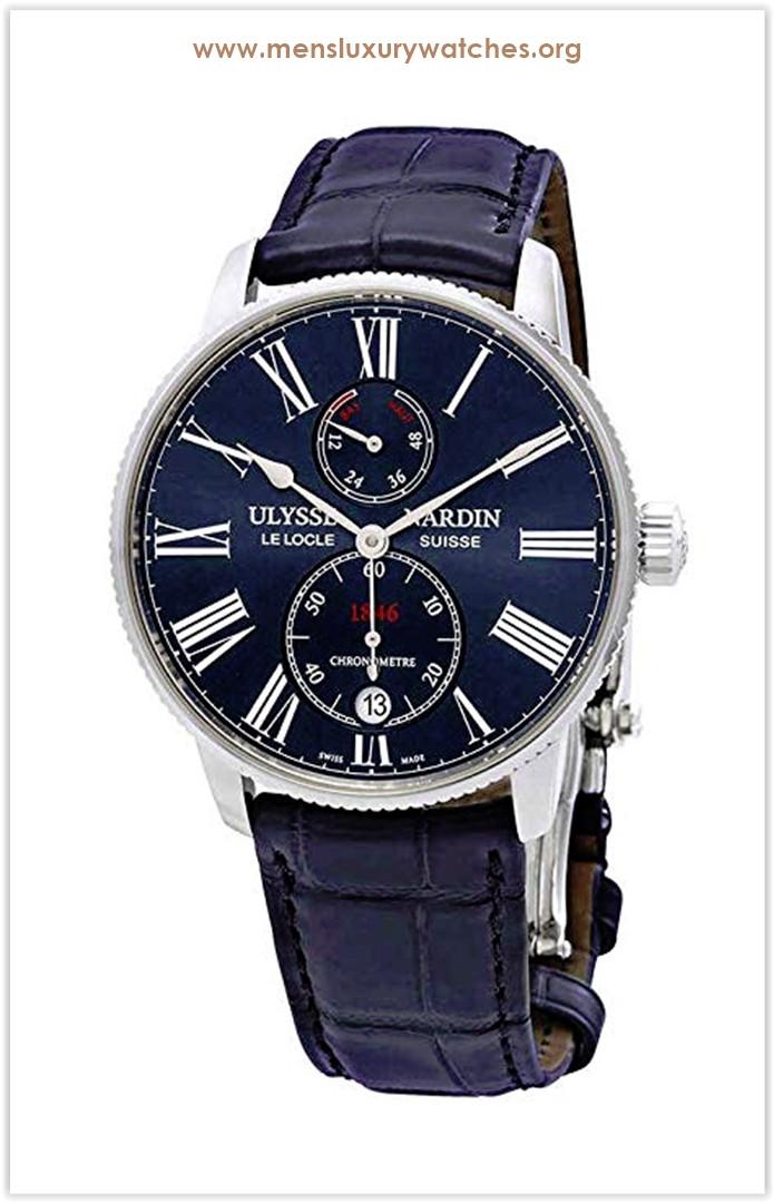 Ulysse Nardin Marine Chronometer Torpilleur Men's Watch the best price