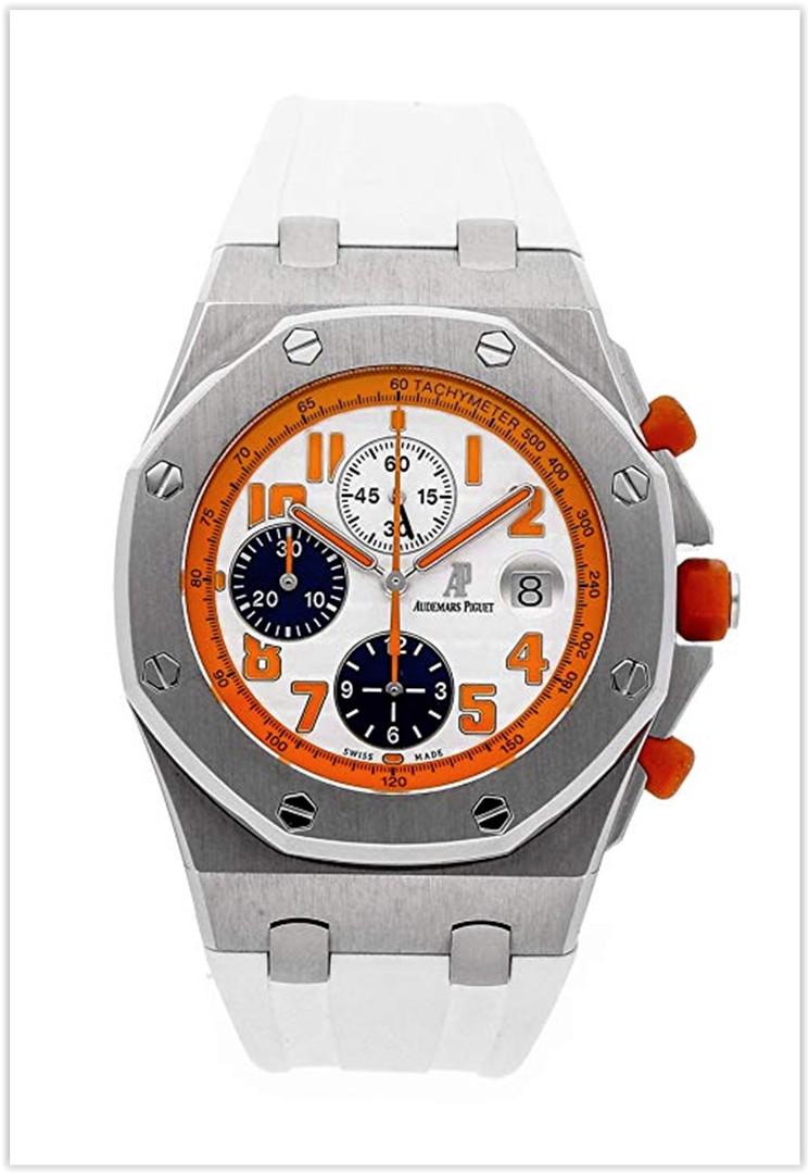 Audemars Piguet Royal Oak Offshore Mechanical (Automatic) Orange Dial Men's Watch Price