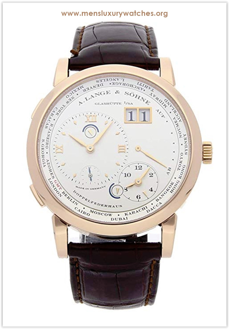 A. Lange & Sohne Lange Mechanical (Hand-Winding) Silver Dial Men's Watch the best price