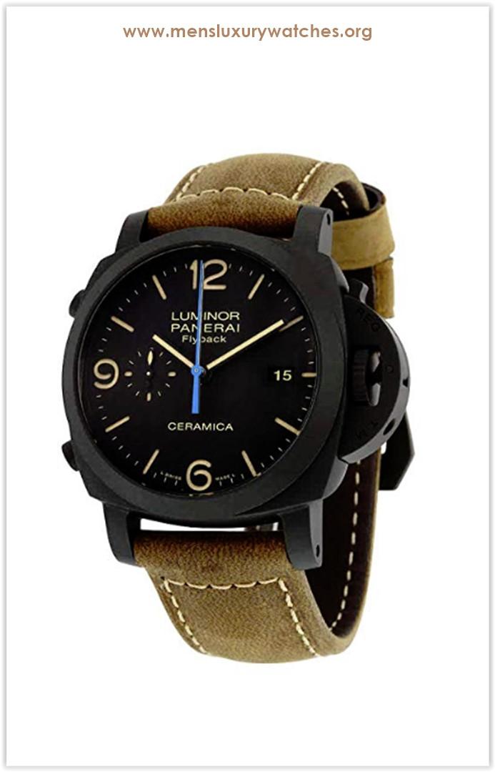 Panerai Luminor 1950 3 Days Chrono Flyback Black Dial Automatic Men's Watch Price