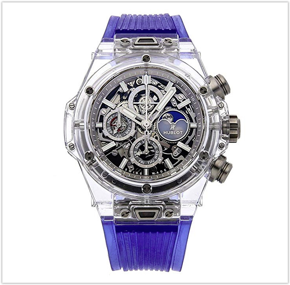 Hublot Big Bang Mechanical (Automatic) Skeletonized Dial Mens Watch