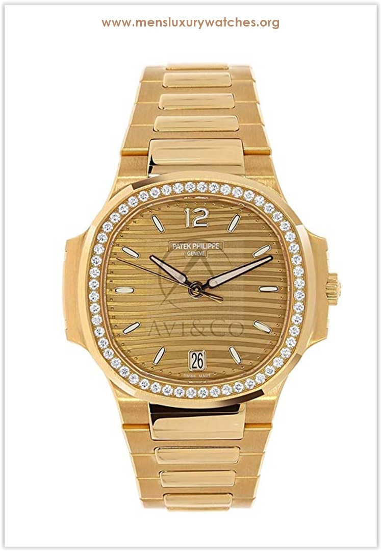 Patek Philippe Nautilus 35MM 18K Rose Gold Ladies Watch Price