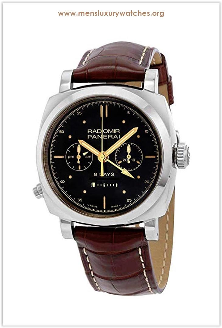 Panerai Radiomir 1940 Chrono Monopulsante 8 Days GMT White Gold Men's Watch Price