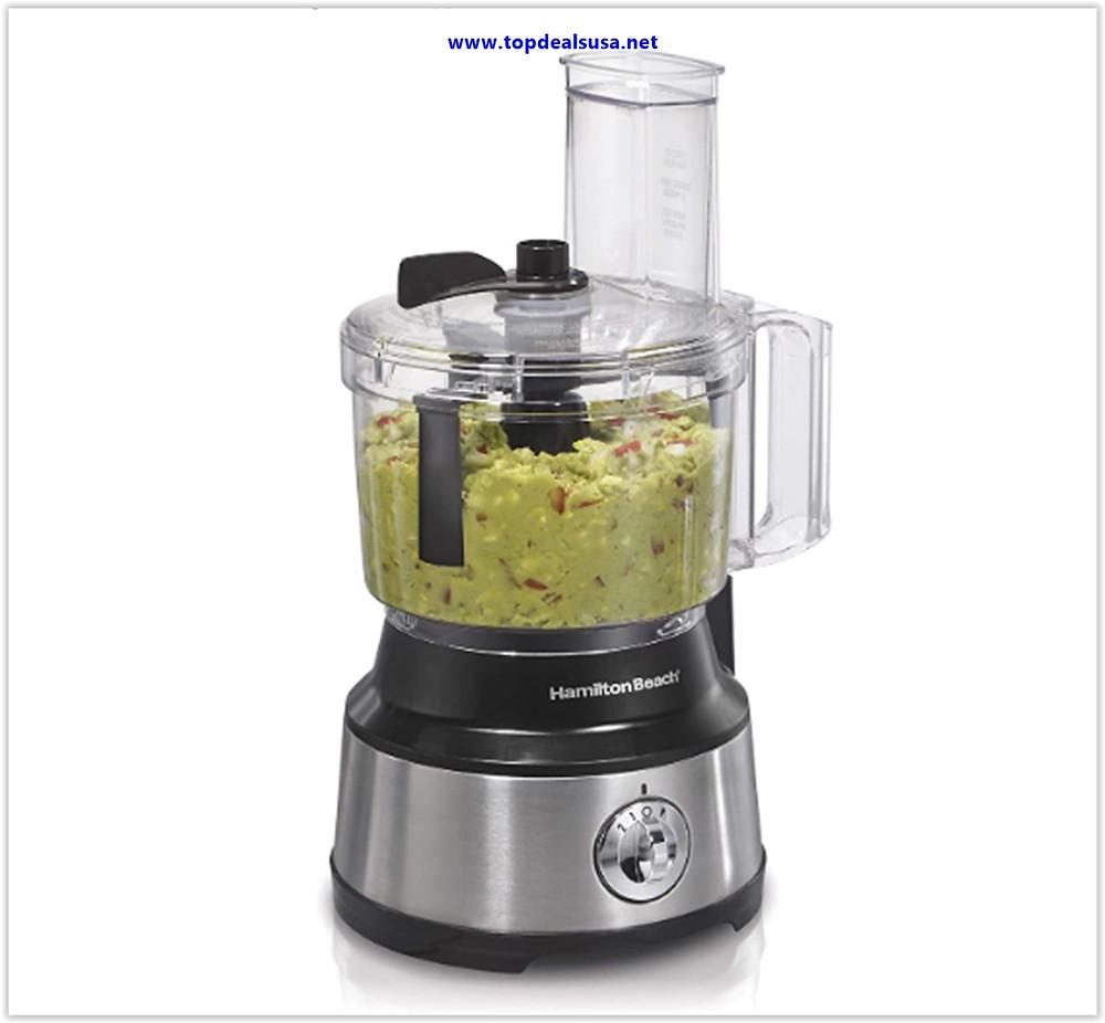 Best buy Hamilton Beach 10-Cup Food Processor & Vegetable Chopper with Bowl Scraper