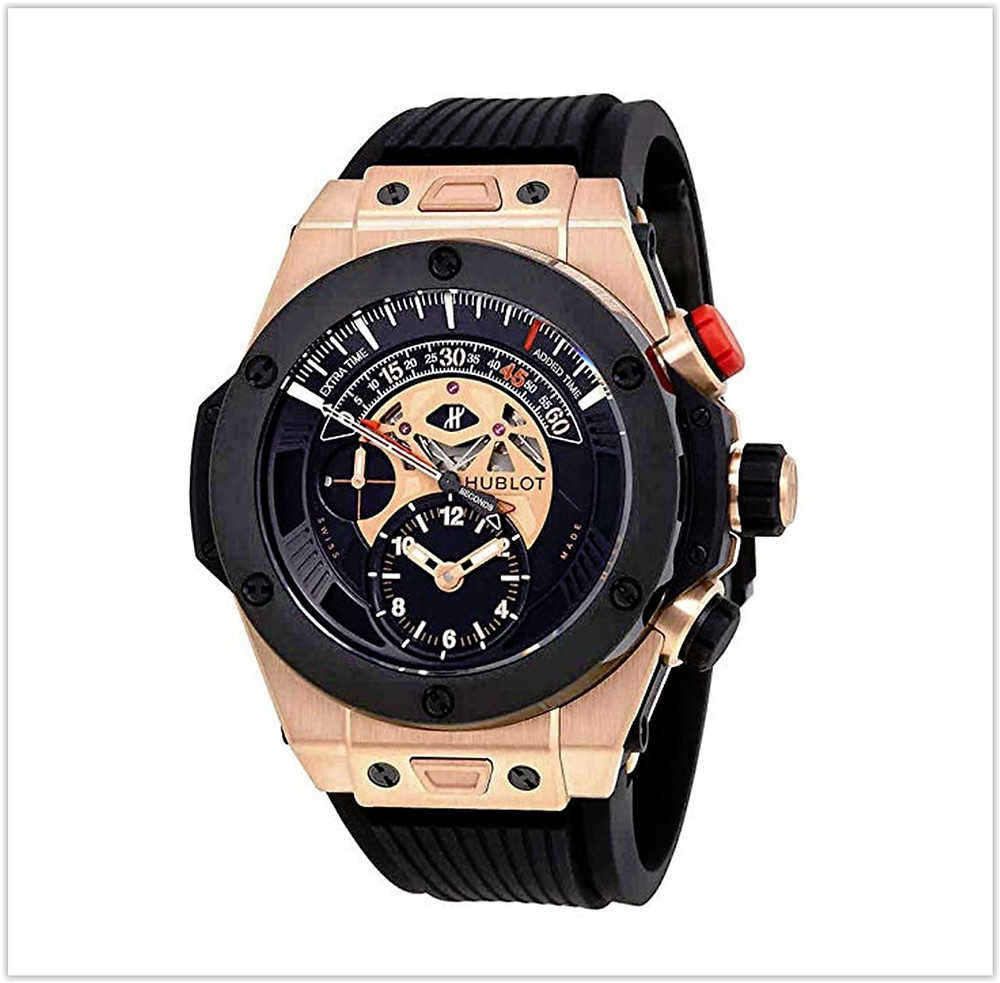 Hublot Big Bang Bi Retrograde King Gold Black Dial Chronograph Men's Watch buy online