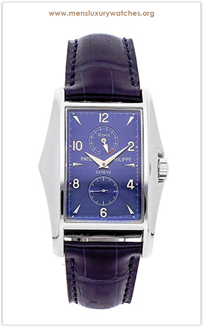 Patek Philippe Gondolo Mechanical (Hand-Winding) Blue Dial Men's Watch the best price