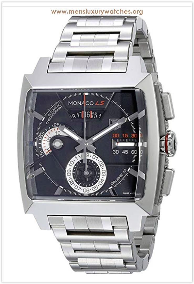 TAG Heuer Monaco Black Dial Men's Watch The Best Price