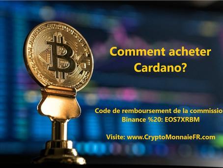 Comment acheter Cardano (ADA)?