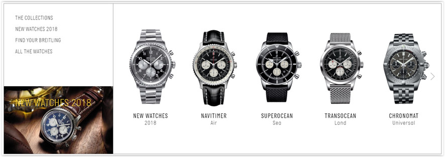 Breitling online store