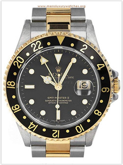 Rolex 16713 D GMT Master II Stainless St