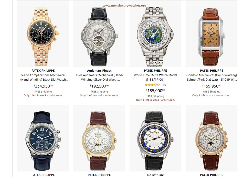 Top 20 original luxury men's watches available to buy on Black Friday