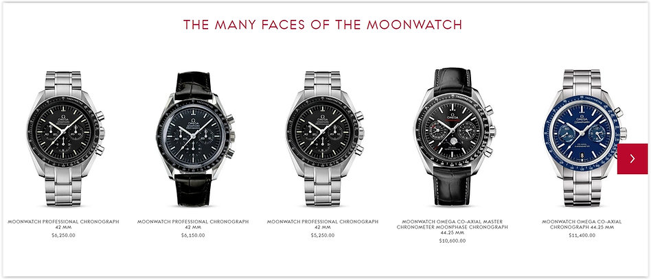 The Omega Online Watch Store