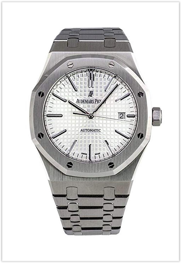 Audemars Piguet Royal Oak Silver Dial Stainless Steel Automatic Men's Watch Price