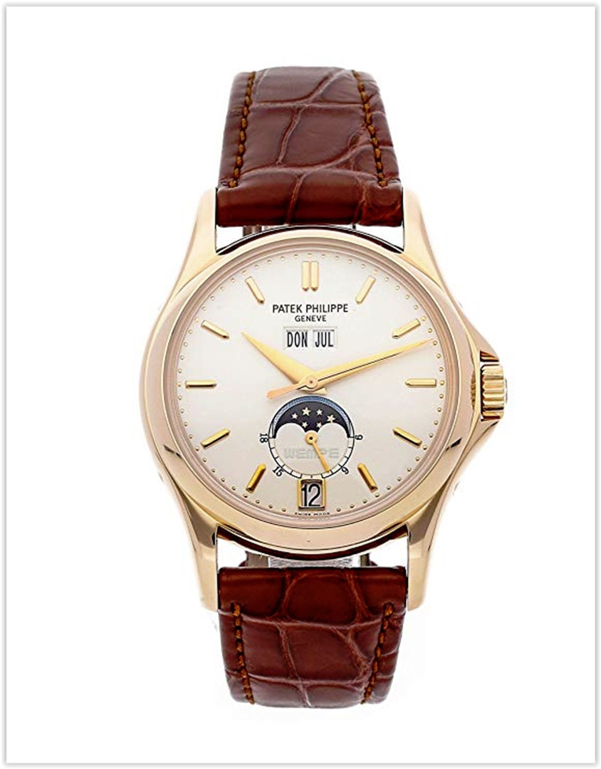 Patek Philippe Complications Mechanical (Automatic) Silver Dial Men's Watch 5125R-001 best price