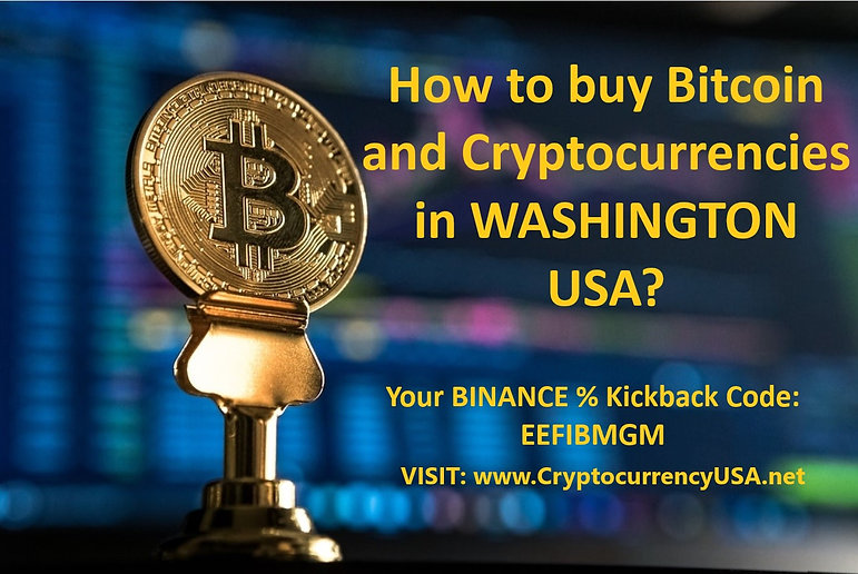 How to buy Bitcoin and cryptocurrencies in Washington, USA?