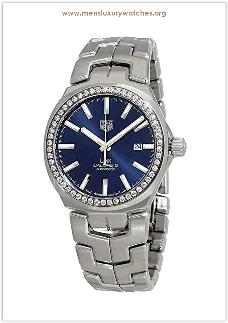 Tag Heuer Link Caliber 5 Automatic Diamond Men's Watch Price