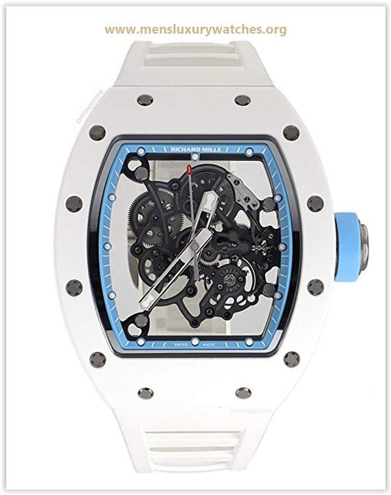 Richard Mille RM 055 Mechanical-Hand-Wind Male Watch RM055 Price May 2019