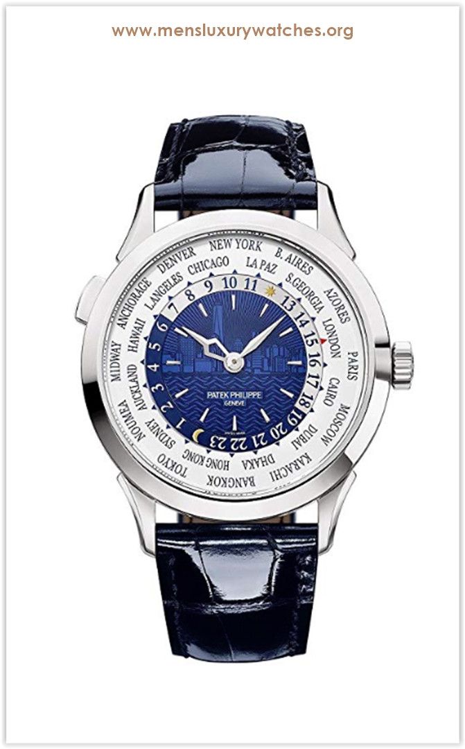 Patek Philippe World Time Complications Men's Watch New York 2017 Limited Edition NEW the best price