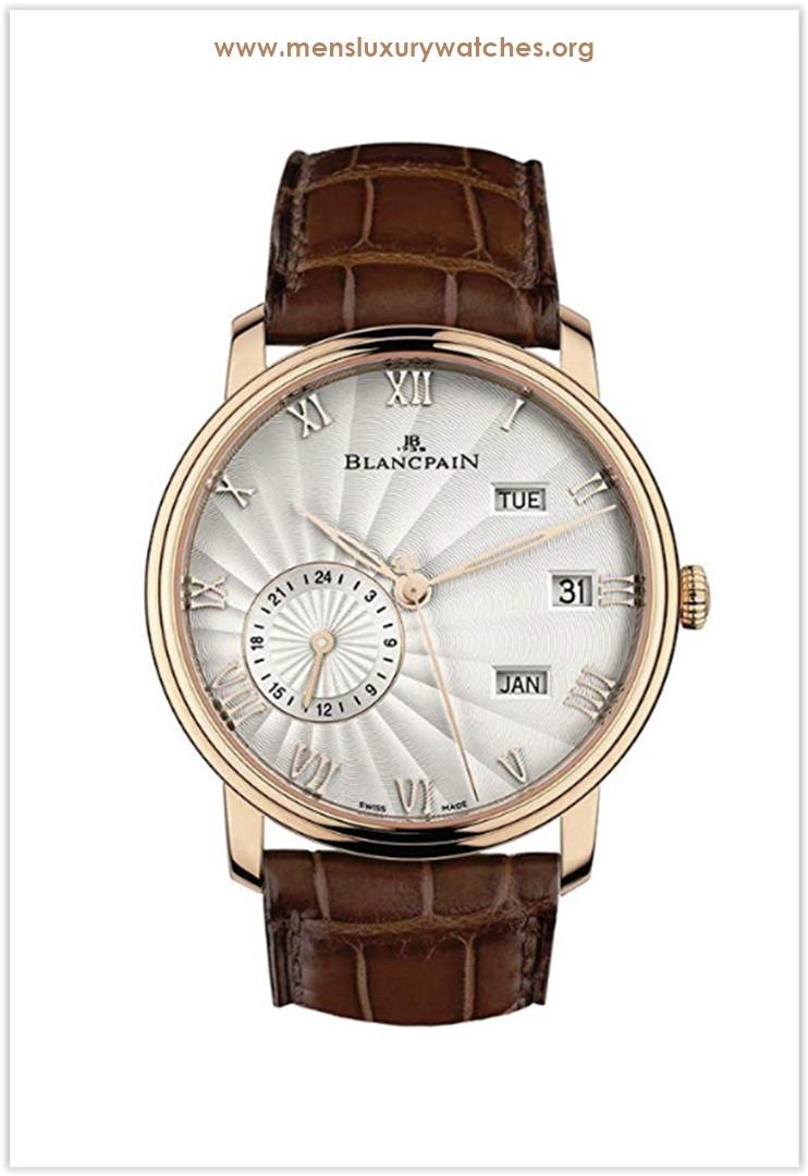 Blancpain Villeret Quantieme Annual GMT 40mm New Men's Watch Price