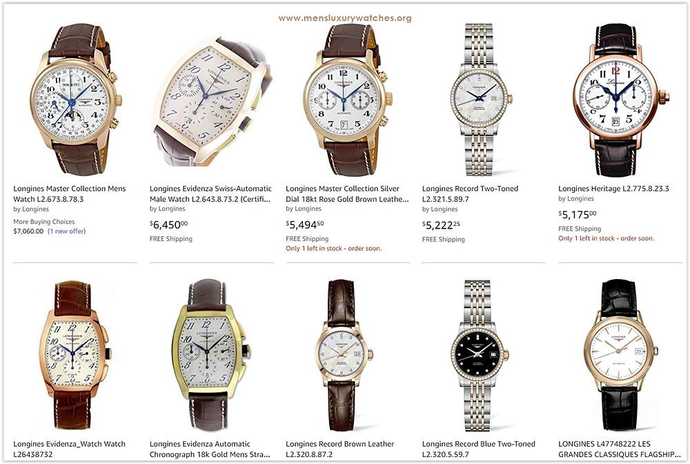 Top 10 Longines Men's Watches