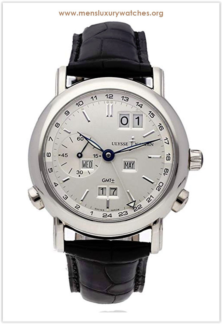 Ulysse Nardin GMT Perpetual Mechanical Silver Dial Men's Watch the best price