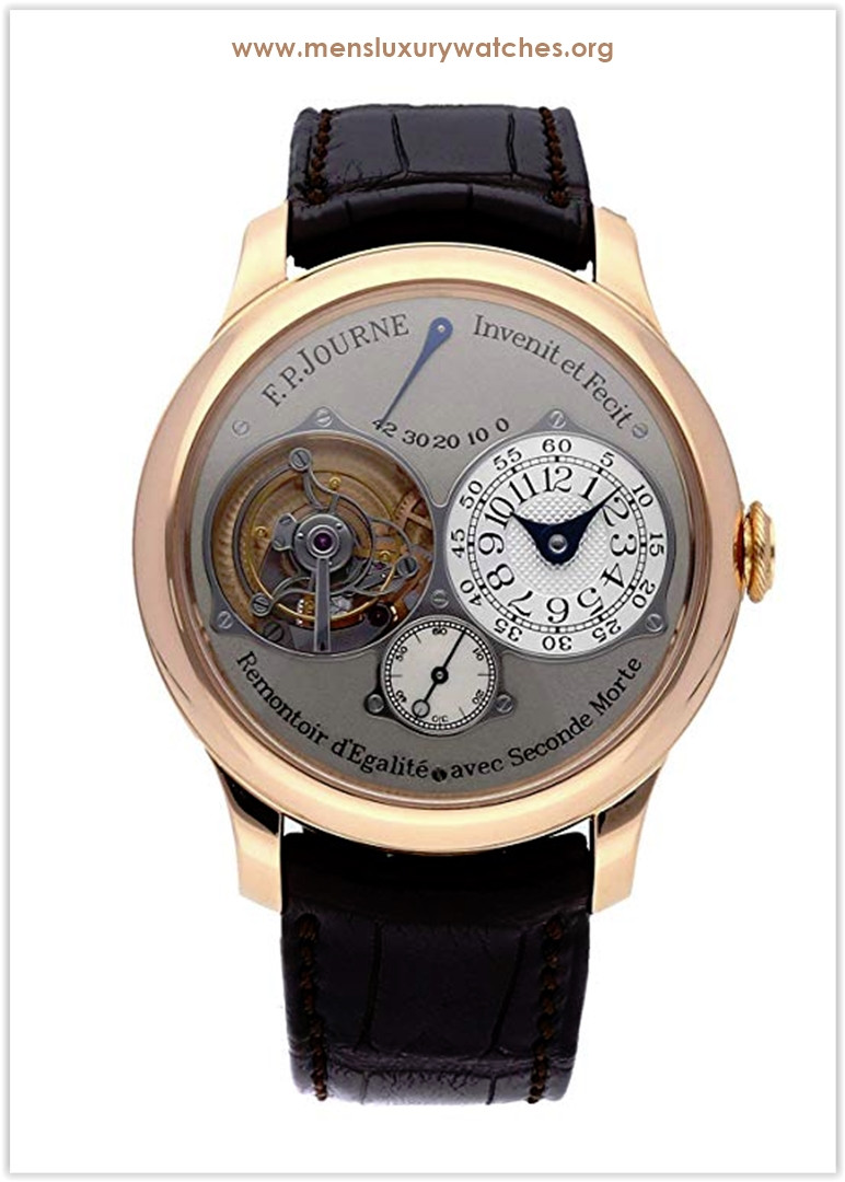 F.P. Journe Souverain Mechanical (Hand-Winding) Silver Dial Mens Watch Tourbillon Souverain Price