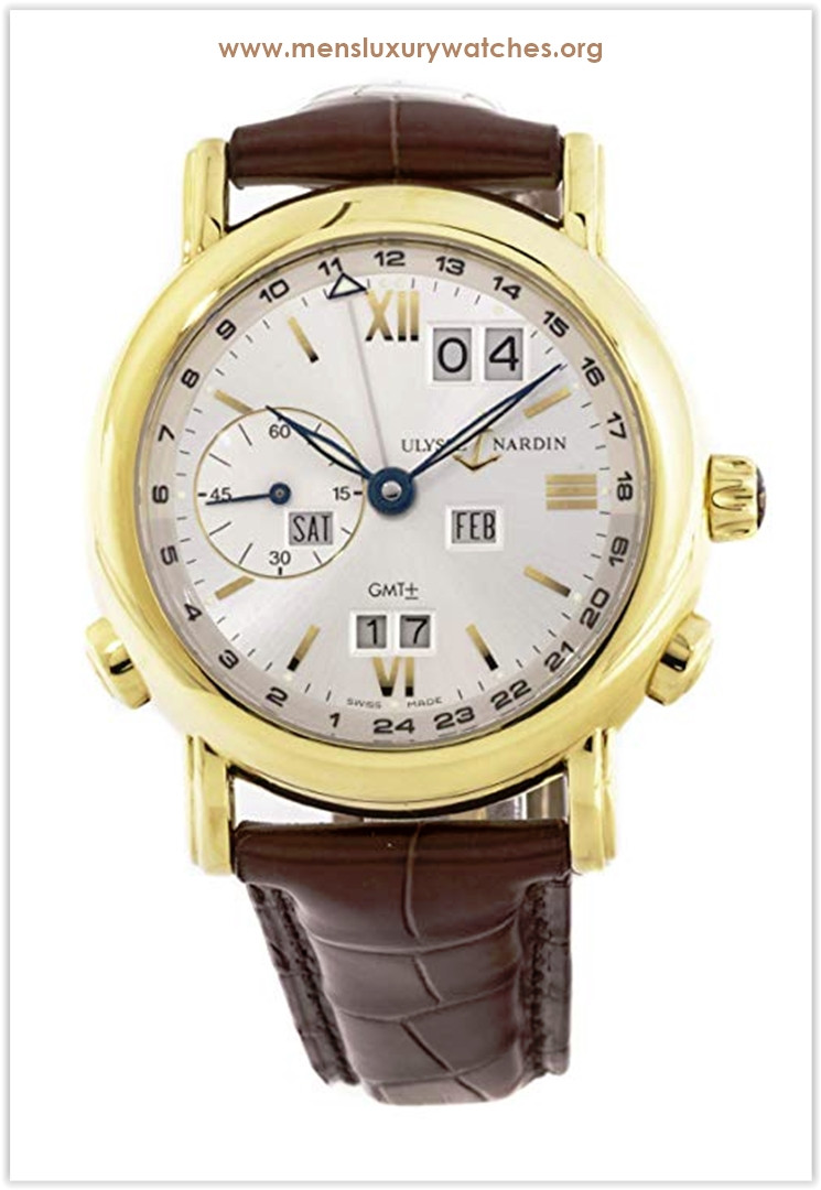 Ulysse Nardin GMT Perpetual Mechanical (Automatic) Yellow Silver Dial Men's Watch the best price